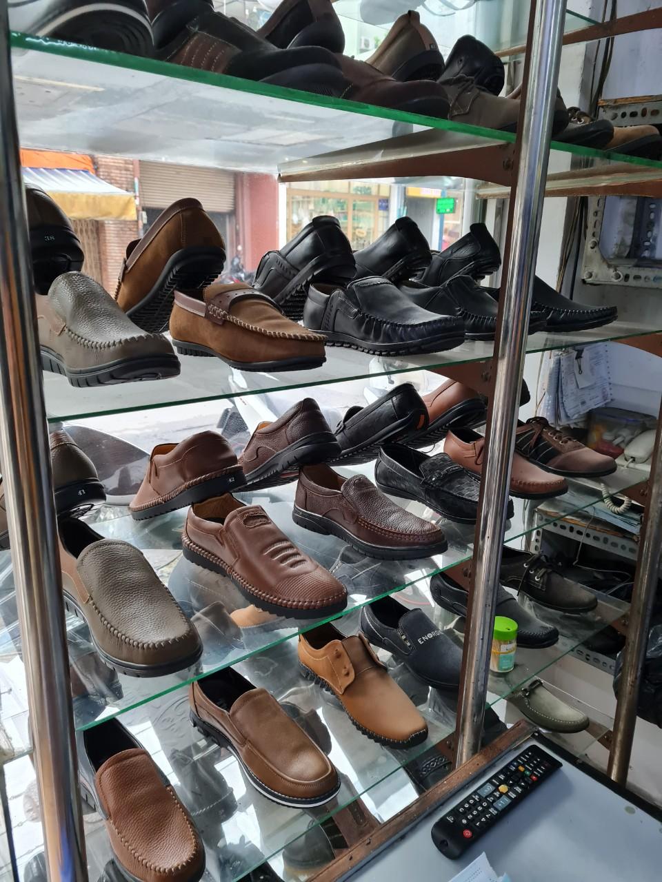 đóng giày da nam theo yêu cầu