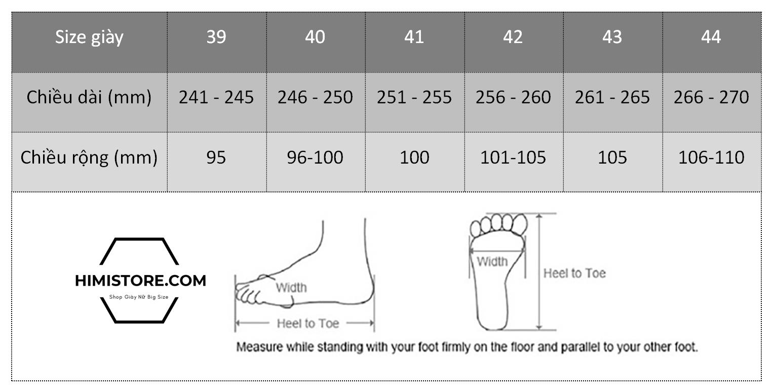 bảng size giày himistore.com-min
