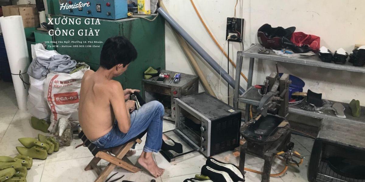 xưởng gia công giày dép