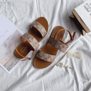 Giày sandal quai ngang bigsize nữ
