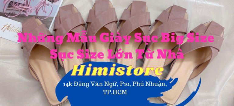 giày dép sục big size, size lớn